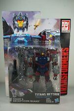 Transformers Generaciones Decepticon Quake & abismo directores Titanes MIB de vuelta!