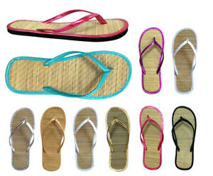 Wholesale Lot 48 pairs Nice and Simple Women's Bamboo Flip Flop Sandal 13 colors