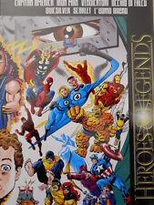 Heroes & Legends 1996 Speciale 35 anni con Poster ed. Marvel Italia [G.211]