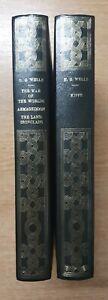 2 BOOK SET - H. G. WELLS Heron Books - War of the Worlds, Kipps etc