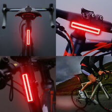 Bike Tail Light USB Rechargeable Powerful 300 Lumens LED Bicycle  Rear Light