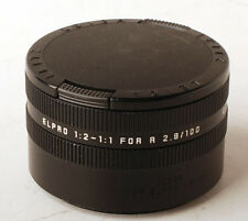 Leica ELPRO 1:2-1:1 16545 for R 100mm f/2.8 APO lens Germany Excelent