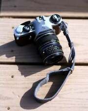 Grey Leather Wrist Strap for DSLR/SLR camera, DSLR Camera Strap