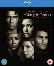 Vampire Diaries - Season 1-8 [Blu-ray] [2017] [Region Free] [DVD][Region 2]