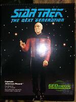 GEOMETRIC PICARD VINYL MODEL KIT, STAR TREK: THE NEXT GENERATION, 1992 NEW MIB