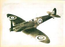 Vintage Style WW2  Postcard, British Spitfire Airplane