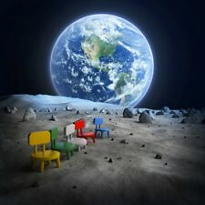 8x8FT Vinyl Photo Backdrops The Chair On The Planet  Photography Background