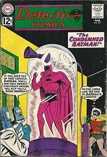 Batman Detective Comics 301 DC Silver Age 1962 The Condemned Batman