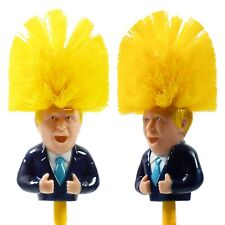 Boris Johnson Toilet Brush,Satire,Novelty Gift, Secret Santa Brush SEE VIDEO