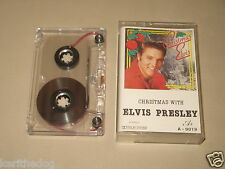 ELVIS PRESLEY - Christmas With - MC Cassette tape /1108