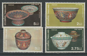 THAILAND FANCY BOWLS, POTTERY (947-50, 1004-7) NH. SCV 9.10.