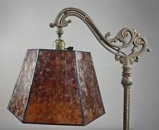 Mission Arts & Crafts Mica Bridge Floor Lamp Shade Amber Tailor Made Lampshades
