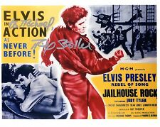 MIKE STOLLER HAND SIGNED 8x10 PHOTO+COA      ELVIS JAILHOUSE ROCK     TO MICHAEL