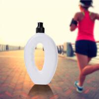 Useful Running Water Bottle BPA Free Handheld Running Water Bottle Sports Cap 1x