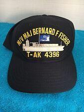 """M/V MAJ BERNARD F. FISHER  T-AK 4396 """"MEDAL OF HONOR"""" RECIPIENT SEALIFT INC CAP"""
