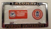 Purdue Boilermakers Alumni Metal License Plate Frame - Officially Licensed Car