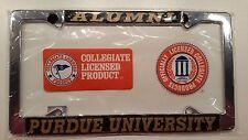 1 - Officially Licensed Purdue Boilermakers Alumni Metal License Plate Frame
