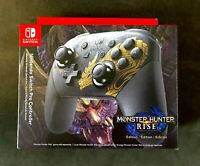 Nintendo Switch Monster Hunter Rise Edition Pro Controller ✅ NEW ✅ SHIPS TODAY