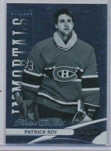 2012-13 Panini Certified 123 Patrick Roy /999 Montreal Canadiens