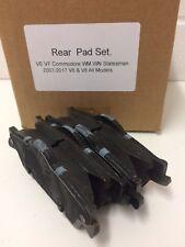 Genuine VE VF Commodore WM WN Statesman Brake Pads  Rear Set V6 & V8