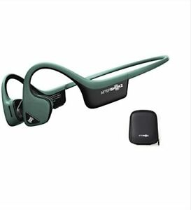 AfterShokz Air Open Ear Wireless Bone Conduction Headphones, with Portable Stor