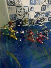 12x Bandai 1993 MIGHTY MORPHING POWER RANGERS & Aliens Mini Figured 3? PVC HTF