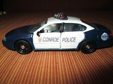 Custom Road Champs 1/43 scale Conroe,TX Police Chevrolet Impala