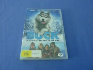 Buck - Jack London's the Call of the Wild DVD R4 New Sealed Free Postage