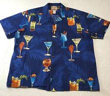RJC Made in USA Men/'s Parrot Macaw Toucan Cockatoo Aloha Shirt