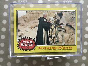 Star Wars Series 3 Full Set Of Trading Cards - Topps 1977