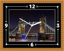 London Bridge Orologio Da Parete Regalo Natale Compleanno (può essere personalizzato)