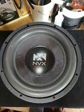 """NVX VCW122 2000W RMS 12"""" Dual 2 ohm VC Series Car Sub Audio Power Subwoofer"""