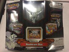 Pokemon Reshiram Box Gift Set.  Promo, Boosters, And More CCG TCG