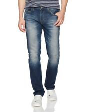 Big Star Division Modern Straight Slim Men's Jeans in Orion Wash $98 NEW 33x32