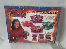Makit & Bakit Create Kids 5 Decorative Bowls Craft Design Children Fun Art. New