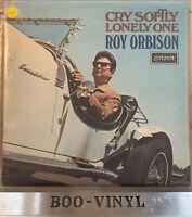 ROY ORBISON CRY SOFTLY LONELY ONE VINYL LP RECORD EX / EX CON
