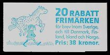 Sweden Scott #1640a Mnh Booklet Panes (2) Of 10 Illustrations