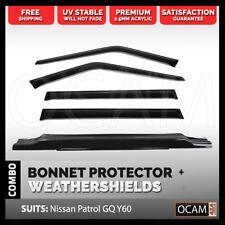 Bonnet Protector, Weathershields For Patrol GQ Ford Maverick 88-97 Manual