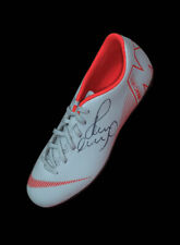 PAUL SCHOLES SIGNED NIKE FOOTBALL BOOT WITH COA & PROOF MANCHESTER UNITED