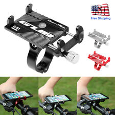 Aluminum Motorcycle Bike Bicycle Holder Mount Handlebar For Cell Phone GPS