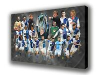 Blackburn Rovers - Heroes -  Wall Canvas Picture Print Wall Art 63cm x 40cm