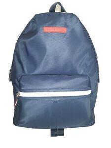 Tommy Hilfiger Nylon Backpack School Travel Bag Laptop Sleeve Navy Blue NWT $108