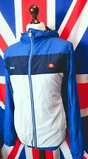 Ellesse Lightweight Hooded Jacket - XL/2XL - Blue - Mod Casuals 60's