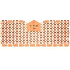 P Wave Mango Oblong  x 6 Urinal Screen Deodoriser 30 Days Fragrance
