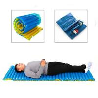 HANDY OUTDOOR CAMPING ROLL MAT PAD INFLATABLE Cushion BED SLEEPING MATTRESS