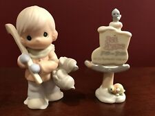 Precious Moments Figurine Ice Skater 1996