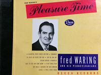 "Fred Waring's Pleasure Time Decca A-418 78 RPM 10"" Records x 6 1944"