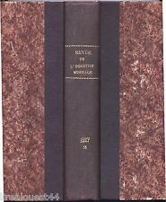 Revue de l'industrie minérale reliure 2e + 3è parties n°145 au n°168 de 1927