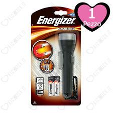 Torcia Energizer Magnet Led Magnetica Mani Liber con Calamita 2xAA