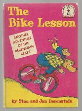 Berenstain Bears  THE BIKE LESSON    Beginner Books  ex++ 1964  EARLY  BOOK CLUB